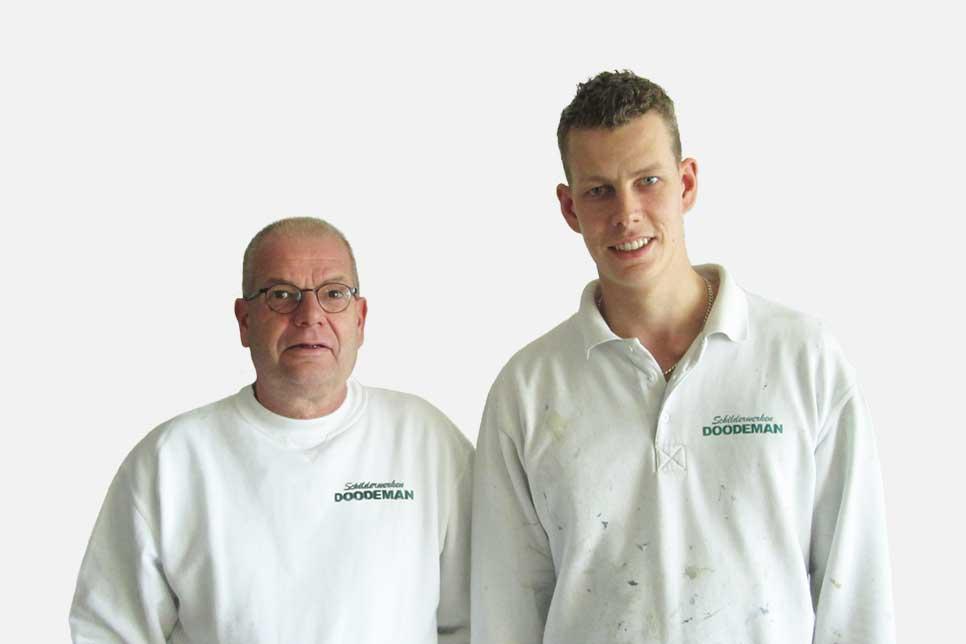 Niels en Ton Doodeman